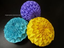Origami Magic Ball by OrigamiPieces