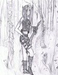 Rinanna In the Forrest by Yvie