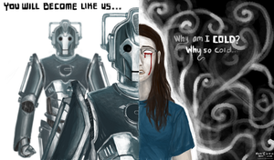The two sides of a Cyberman by rcxdirectrix