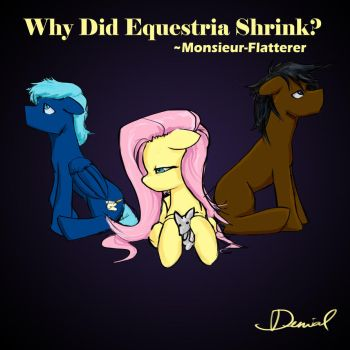 Why Did Equestria Shrink? -cover art by RememberTherefore