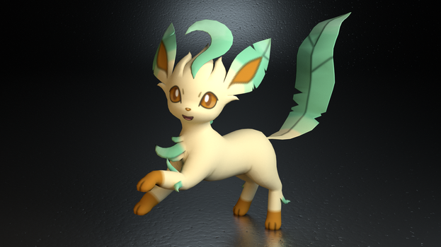 #470. Leafeon by TheAdorableOshawott