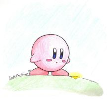 Kirby by redfoxartist