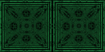 Crosseye Ascii Kaleidoscope by fence-post