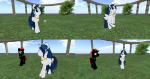 Fifi Pony - Second Life by Fificat