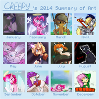 [2014] Summary Of Art by SupLoLNope