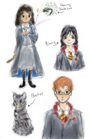 HP doodles by anyaLovecraft