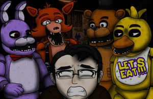 Five Nights at Freddy's - Markiplier by AnimeTimelord