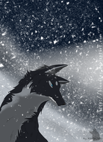 snow-storm by Bloodjer