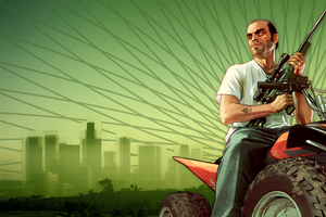 Grand Theft Auto V (GTA V) Trevor Fan Art by KevFB