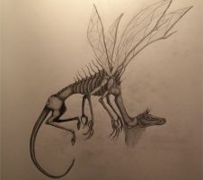 Dragon-Horse fly by LabelMeInsomniac