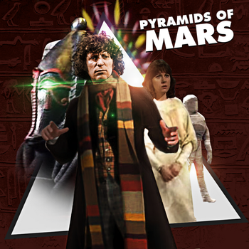 Pyramids Of Mars Artwork by E-SPACE-Productions