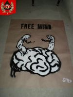 FREE MIND - poster 02 by Swoboda