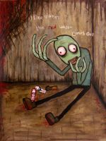 Salad Fingers by InsomniousMachinist