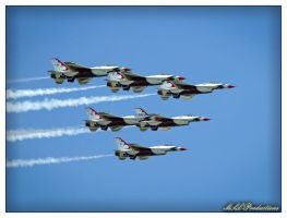 The Thunderbirds by Dracoart
