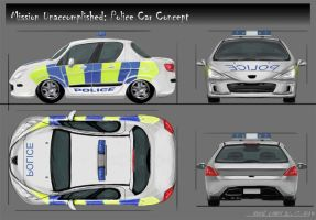 Police Car Concept by Foonix1225