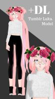 [MMD] Tumblr Luka Model [+DL] by JadeRockability