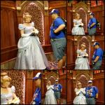 Cinderella in the royal hall by CrimsonTuba1069