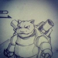blastoise is still cool by Nidyl