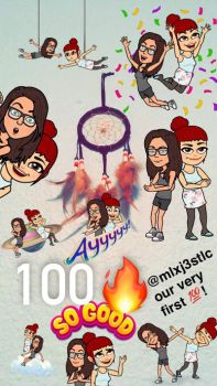 guess who got a 100 streak with by doriandraws
