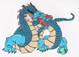 Chinese Dragon by PierEighteen