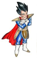 Vegeta Commission by xxsatur9xx