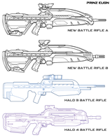 Battle Rifle Re-design WIP by PrinzEugn