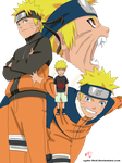 Naruto Lineart Colored by Ikuzram021