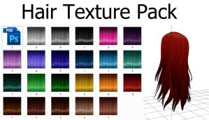 Hair Texture Pack by MissingPixieSticks