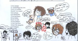 random junjou things while Im studying geography by helplessdancer