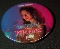 Dr Jekyll and MS Hyde Button by jojohyde