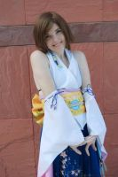 Smiling faith ( Yuna cosplay ) by AngelaCheer