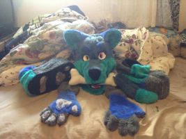 fursuit pluse charicter for sale .:open:. by JoeyVadka