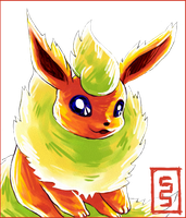 Flareon I Choose You by cerasly