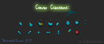 Comix Cursors Blue by ZackLeonharts