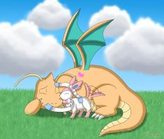 Dragonite 's New Fear by Rose-Beuty