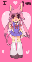 I love yuno Gasai by Spookie-Sweets