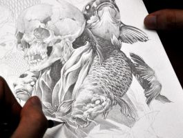 Demooni (in process) by noiaillustration