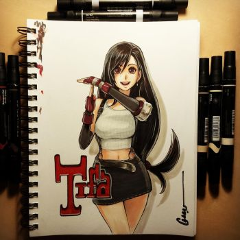 Time out for Tifa by Omar-Dogan