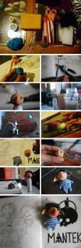 Elfiot process- Stop motion doll- by WENDX14
