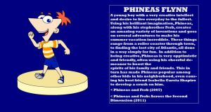 Character Info: Phineas Flynn by kylgrv