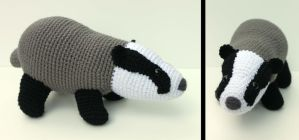 Badger Badger Badger by MilesofCrochet