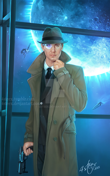Commission 'Levi Garret' ebook cover by 4steex