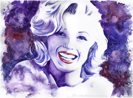Marilyn Monroe by Woodstockowa