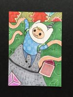 Mathematical Finn ACEO by brittkay