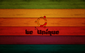 Ubuntu be Unique wallpaper by thales-img