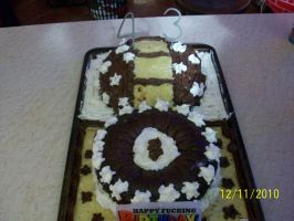 the cake i baked by BowsersMine