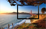 golden gate afternoon wallpaper by evthan