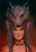 wolf by SniffLess