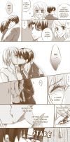 Heichou's kiss by PkYupe