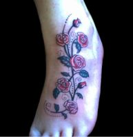 Rose tattoo by Shadow3217